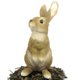Image of Lookout Rabbit - Resin Garden Ornament