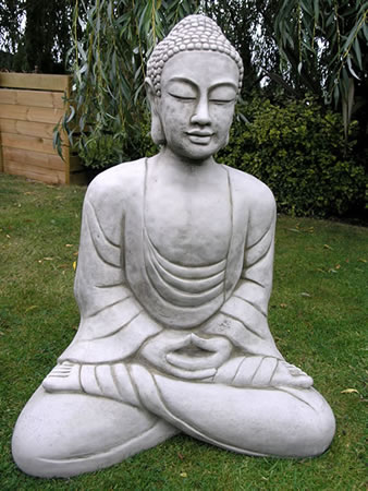 Image of Giant Buddha Garden Statue - BD30