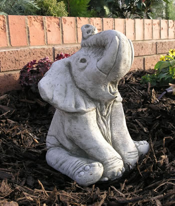 Image of Ellie The Elephant Garden Ornament Statue