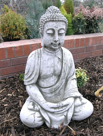 Image of Extra Large Stone Buddha Garden Ornament - BD29
