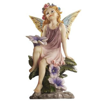 Image of Fairy Dust Twin: Flower Garden Ornaments by Design Toscano