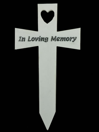 Image of Memorial Cross - In Loving Memory