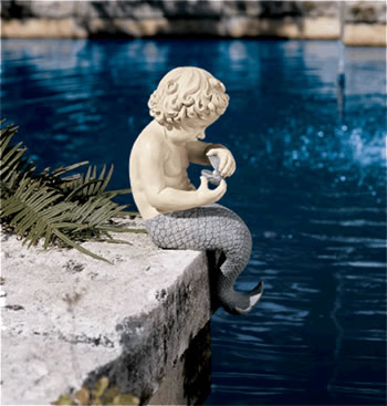 Image of The Ocean's Little Treasures Garden Ornament