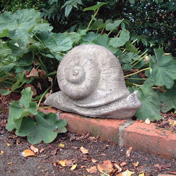Image of Toby The Snail - Stone Garden Ornament