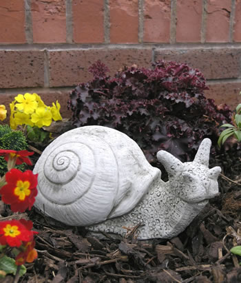 Image of Cecil The Snail Stone Garden Ornament