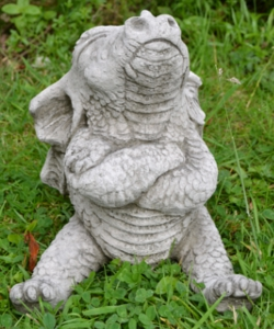 Image of Naughty Dragon Stone Garden Ornament