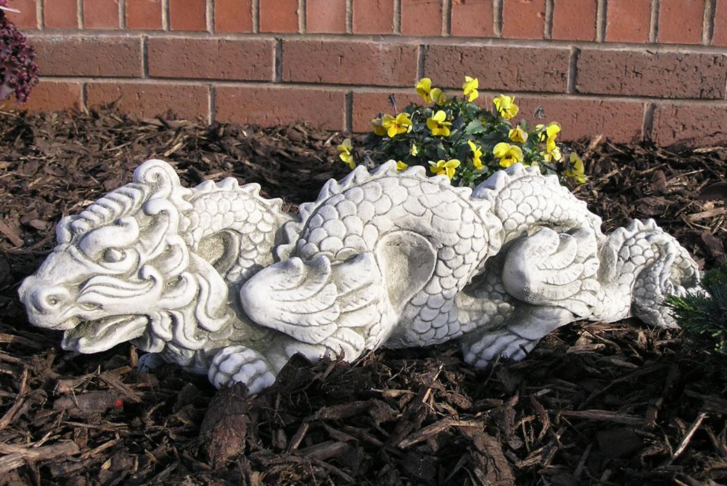 Oriental Dragon Stone Garden Ornament Statue 163 34 99