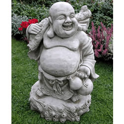 Small Image of Jolly Buddha Garden Ornament - BD24
