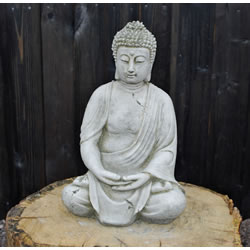 Small Image of Ancient Buddha Stone Garden Ornament - BD12