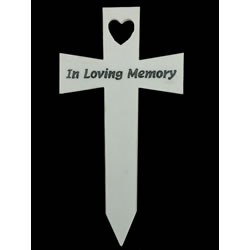 Small Image of Memorial Cross - In Loving Memory