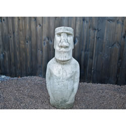 Small Image of Moab Head Stone Garden Ornament