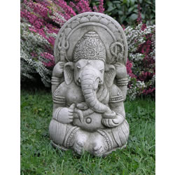 Small Image of Small Ganesh Garden Ornament