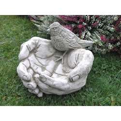 Small Image of Bird Hands Feeder Garden Ornaments - BR2