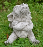 Small Image of Naughty Dragon Stone Garden Ornament
