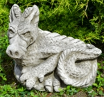 Welsh Dragon Garden Ornament