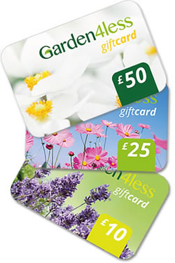 Small Image of Garden4less Gift Card - £25