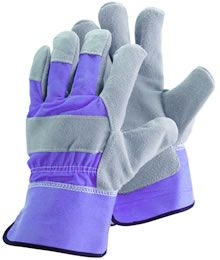 Image of Briers Ladies Rigger Gardening Gloves Lavender