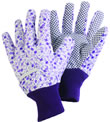 Ladies Ditzy Gardening Gloves in Lavender