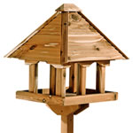 Gardman Self Assembly Cedar Pagoda Bird Table