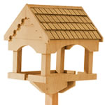 Gardman Self Assembly Pine Bird Table