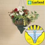 Small Image of Pair Of Garland Small Self Watering Hanging Baskets Green - G65G