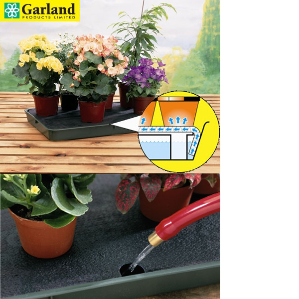 reviews for garland self watering plant tray at