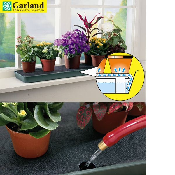 Reviews for garland self watering windowsill plant tray for Gardening 4 less reviews