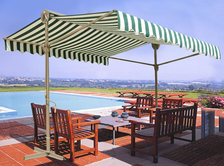 Retractable Sun Shade Awning 3 X 3 Meters 163 199 99