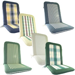 Image of Glencrest Colonial Collection Seat Pad with Back x2 - 276619