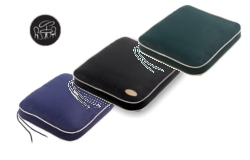 Image of Glencrest Bespoke Polyester Collection Seat Pad Cushion - Midnight Blue