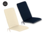 Small Image of Glencrest CC Collection Seat Pad with Back - Pack of Two
