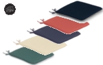 Small Image of Glencrest CC Collection Seat Pad Cushion x2
