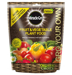 Image of Miracle Gro Fruit and Vegetable Food - 1.5kg