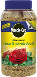 Image of Miracle-Gro - Slow release Rose and Shrub Food 1kg