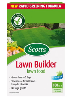 Image of Scotts Lawn Builder Lawn Food - 100 m2