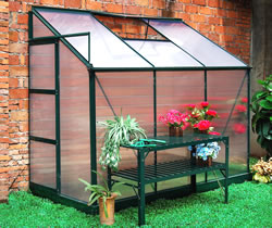 Image of Dorset Lean To Greenhouse - 4 x 6 Ft