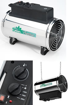 Image of Bio Green Electric Phoenix Greenhouse Heater - 2.8kw