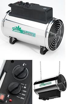 Bio Green Electric Phoenix Greenhouse Heater 2 8kw 163