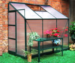 Small Image of Dorset Lean To Greenhouse - 4 x 6 Ft