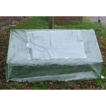 Mini Greenhouse with Reinforced Cover - Triangular