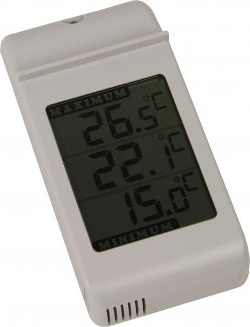 Image of Simplicity Digital Max/Min thermometer White