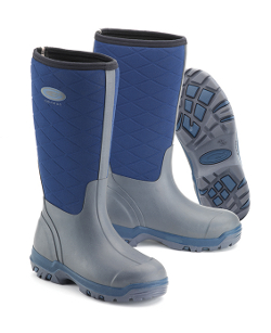 Image of Grub Boot Iceline 8.5 - Navy UK Size 6