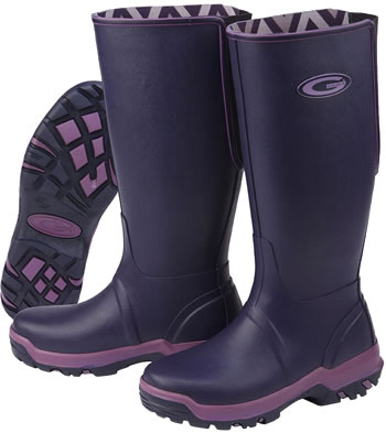 Image of Grub Boots Rainline - Aubergine UK 7
