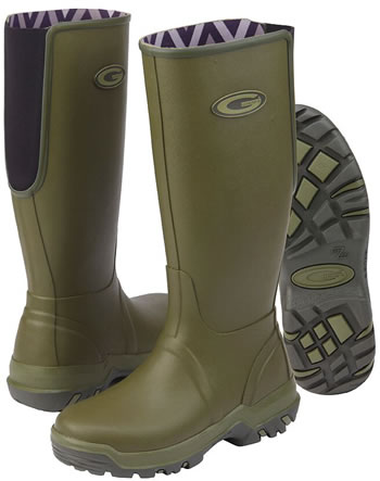Image of Grub Boots Rainline - Green UK 6