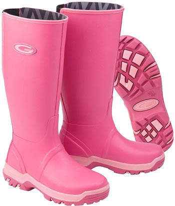 Image of Grub Boots Rainline - Pink UK 6