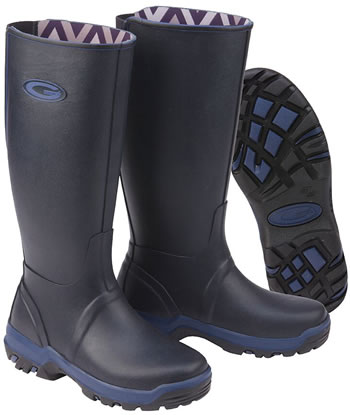 Image of Grub Boots Rainline - Navy UK 4