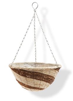 Image of Corn Rope Hanging Basket - 30cm