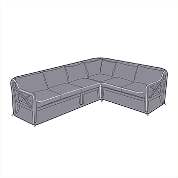 Image of Hartman Sorrento Rectangular Corner Sofa Cover - Left Hand Facing