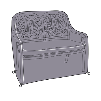 Image of Hartman Amalfi Comfort Bench Cover