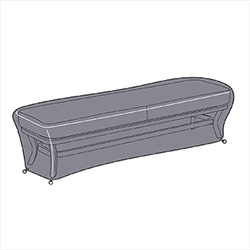 Small Image of Hartman Dubai 3 Seater Bench Cover